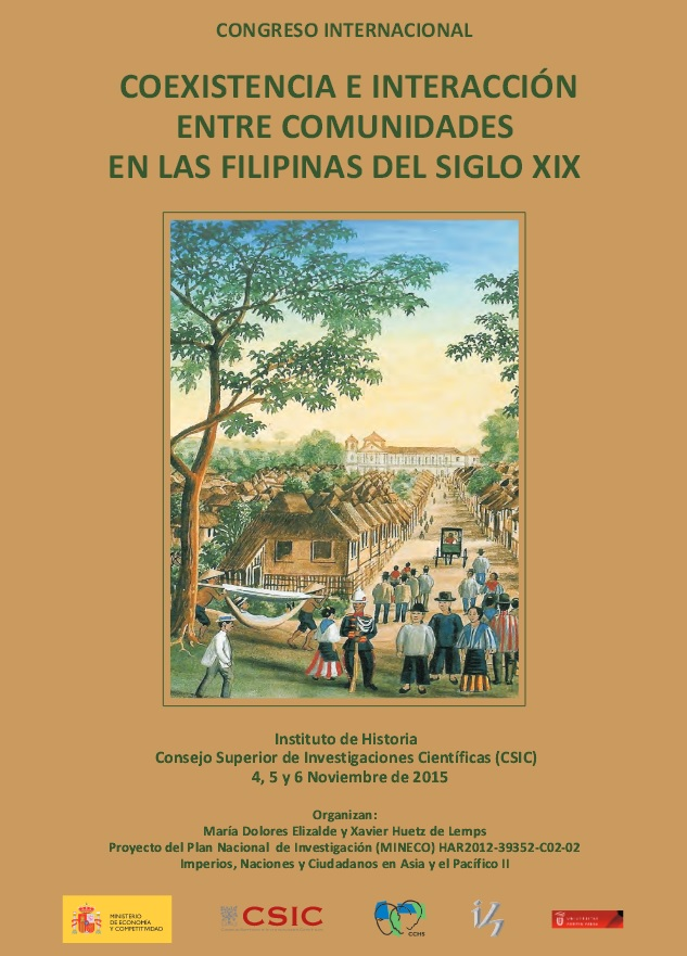 cartel congreso csic filipinas 2015